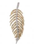 Diamond Feather Pendant