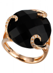 Onyx, Diamond Ring